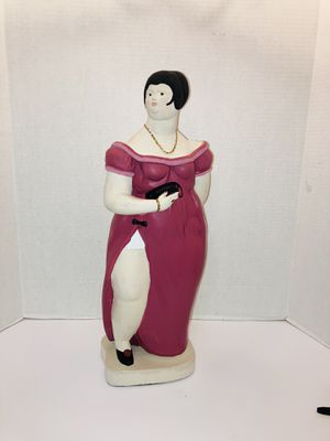 Vintage Rare 1987 Signed Austin Productions, Inc. Artist Paolo Grosso Elegant Gorgeous Woman In Dress Sculpture Statue Collectible for Sale in Spring Hill, FL