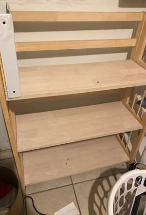 Wooden shelf organizer for Sale in Fort Worth, TX
