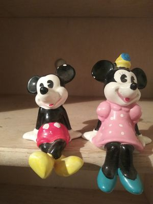 Mickey and Minnie figurines for Sale in Hurst, TX