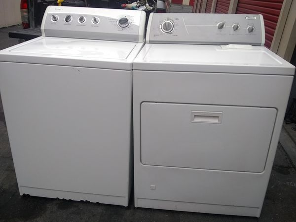Washer Kenmore and gas dryer Whirlpool 90 days warranty deliver free