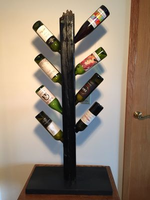 Wine Tree made from Reclaim wood for Sale in Traverse City, MI