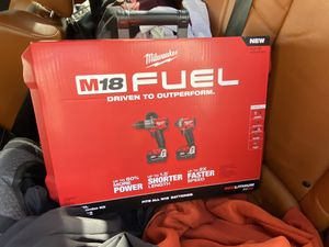 Milwaukee M18 impact drill and hammer drill combo kit for Sale in Seattle, WA