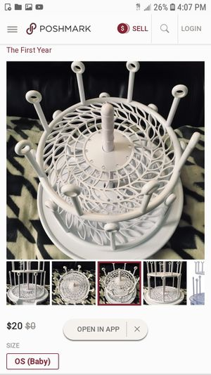 Baby bottle drying rack for Sale in Tampa, FL