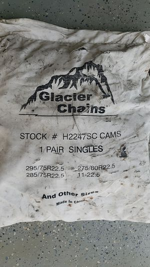 Glacier chains for truckers for Sale in Harrisburg, NC