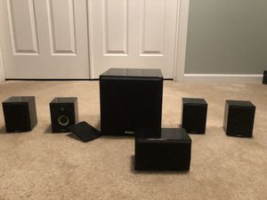 Energy Speakers RC-Micro 5.1 Home Theater System with subwoofer for Sale in Passaic, NJ
