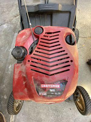 "Craftsman lawnmower- 21"" cut lawn mower for Sale in Tustin, CA"