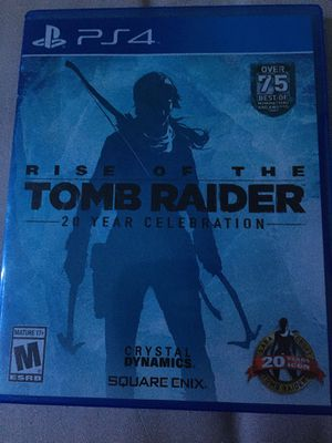 shadow of the tomb raider & rise of the tomb raider for Sale in Dauphin, PA