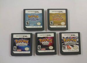 Nintendo DS pokemon 5 Game Set for Sale in Struthers, OH