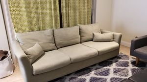 Comfy couch with washable covers! for Sale in Ocean Ridge, FL