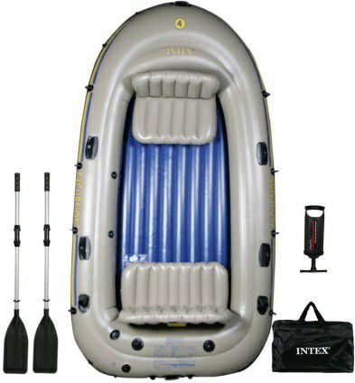 Inflatable 4 person Boat