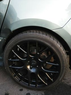 All black niche rims for Sale in Charlotte,  NC