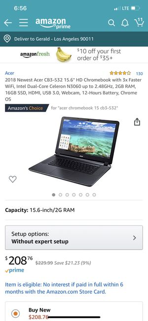 2018 Acer for Sale in Los Angeles, CA
