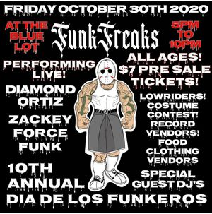 Funk Freaks Wristbands for 10/30/20 for Sale in La Mirada, CA