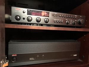 Adcom GFA 5400 amp and GTP 350 tuner pre-amp stereo components for Sale in Rockville Centre, NY