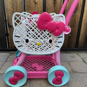 Hello Kitty Shopping cart 🛒 For Kids for Sale in Chandler, AZ