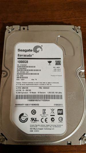 Seagate Barracuda 1TB SATA Internal Hard Drive for Sale in Cary, NC