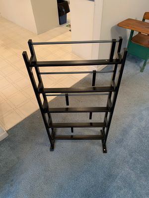 VHS/DVD Stand, Black for Sale in Columbia, SC