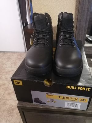 Brand new Caterpillar axle st work boots. Size 11.5. Waterproof. Steel toe. for Sale in Riverside, CA