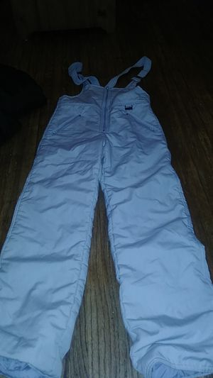 Snow grey bib Youth Large overalls for Sale in Huntington Park, CA
