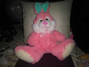 Cute pink bunny plushie for Sale in Boston, MA