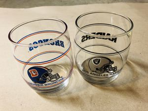 RAIDERS. Collection Glass for Sale in Rosemead, CA