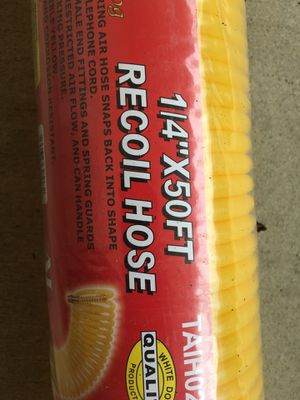 1/4x50FT RECOIL AIR HOSE for Sale in Fremont, CA