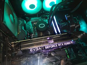 Rtx 2080ti pc with 144hz 2k monitor and mechanical keyboard and rgb mouse for Sale in Los Angeles, CA