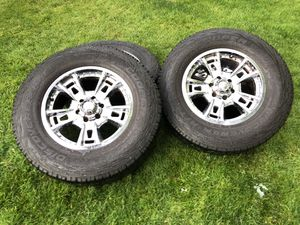 Set of 4 wheels and tires for Sale in Seattle, WA