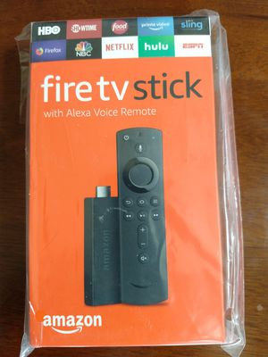 Fire TV Stick, New , Unused - $29.99 for Sale in Flower Mound, TX