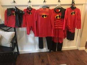 Incredibles costumes for Sale in Graham, WA