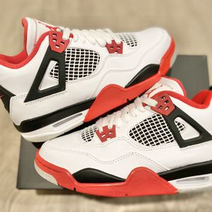 Jordan 4 Fire Red Size 6.5 & 7 Y GS for Sale in Los Angeles, CA