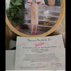 Brand new Barbie collectible plate for Sale in Newport, KY