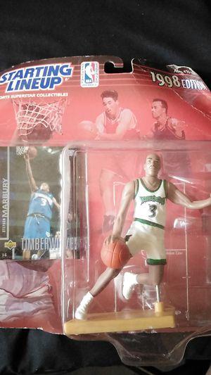 1998 Stephon Marbury Timberwolves Action Figure for Sale in Lynwood, CA