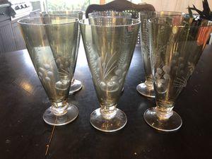 Lenox vintage glass set of 6 for Sale in Bradenton, FL