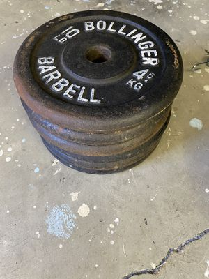 (Gym 2nd shut down)Standard plates 10lb (6) for Sale in Clovis, CA