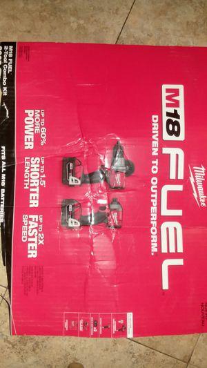 Milwaukee M18 2-tool kit for Sale in Murfreesboro, TN
