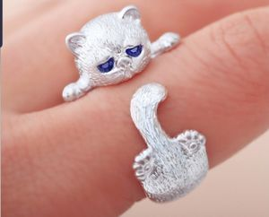 Kitty 925 Sterling Silver Ring Cat Paw Ring for Sale in Miramar, FL