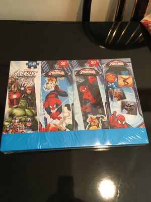 Marvel - Puzzles Plus Memory Game for Sale in Littleton, CO
