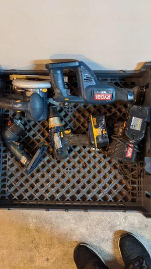 Set of Ryobi Power Tools for Sale in St. Petersburg, FL