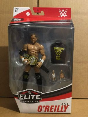 WWE Elite Series 80 CHASE Kyle O'Reilly for Sale in Linden, NJ