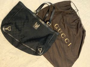 PRICE REDUCED***Authentic Gucci tote bag and dust/sleeper bag for Sale in Auburn, WA