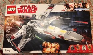 LEGO Star Wars x wing star fighter 75218 set for Sale in South Brunswick Township, NJ