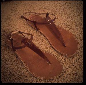 Loft brown sandals, size 8 for Sale in Nashville, TN