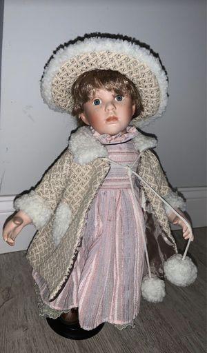 Porcelain Doll Gray Dress for Sale in Coconut Creek, FL