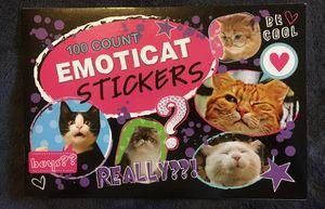 Emoticat Stickers-100 count for Sale in Hemet, CA