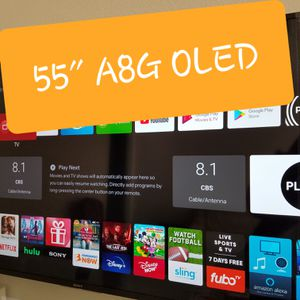 Sony XBR-55A8G 55 Inch TV: BRAVIA OLED 4K Ultra HD Smart TV with HDR and Alexa Compatibility - 2019 Model for Sale in Las Vegas, NV