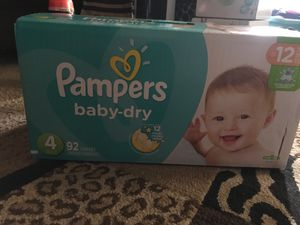 Pampers size 4 for Sale in Laurel, MD