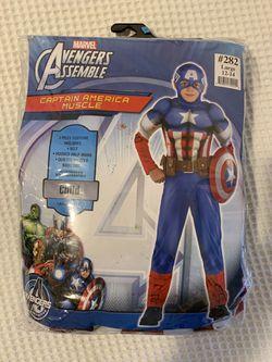 Kids Captain America Halloween Costume for Sale in Pawtucket,  RI