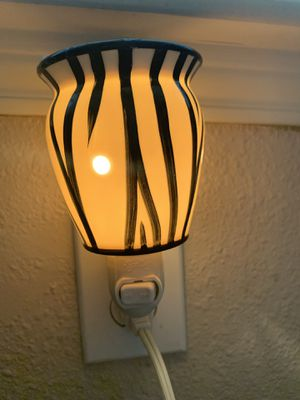 Zebra Scentsy Wall Plug Wax Warmer for Sale in Houston, TX