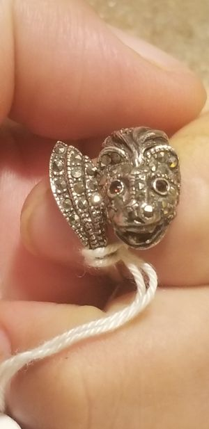 BEAUTIFUL STERLING SILVER FISH RING for Sale in Fairfax, VA